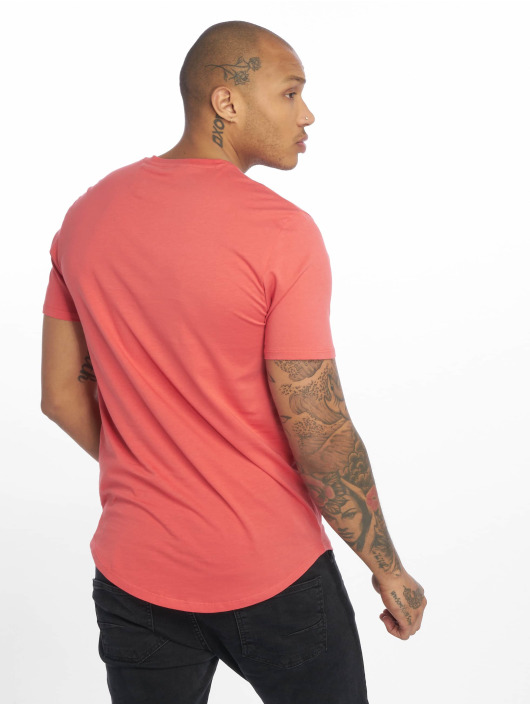 Only & Sons T-Shirt onsMatt Longy Noos rot