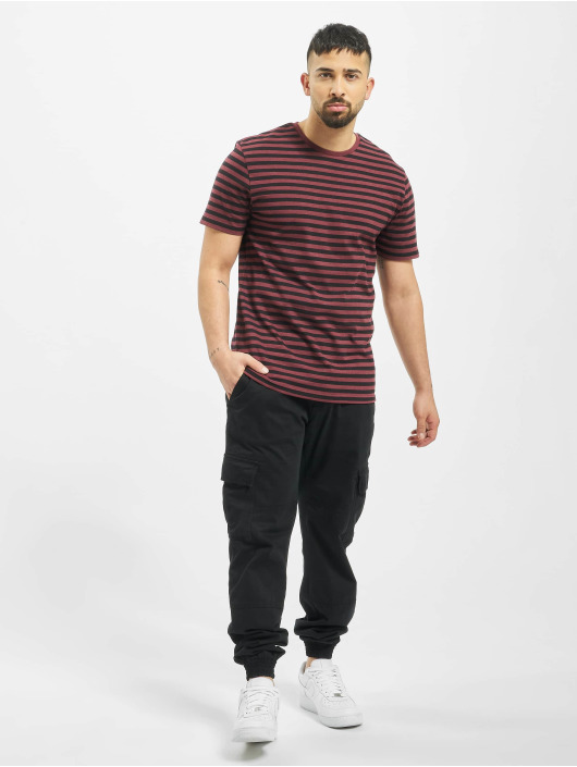 Only & Sons T-Shirt onsJamie Stripe Regular Noos rouge