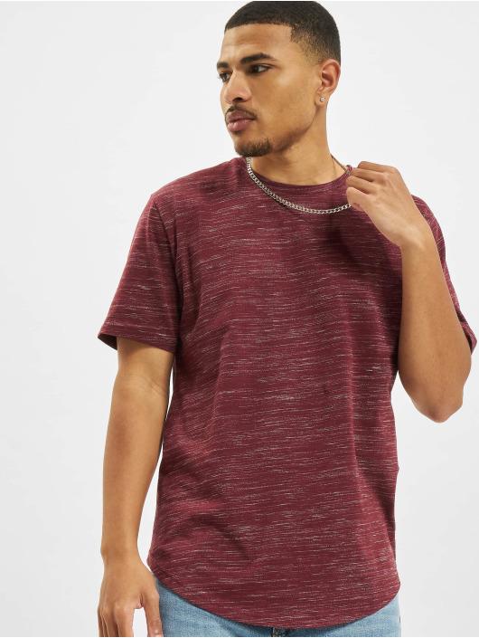 Only & Sons T-Shirt onsMatty Melange Longy rouge