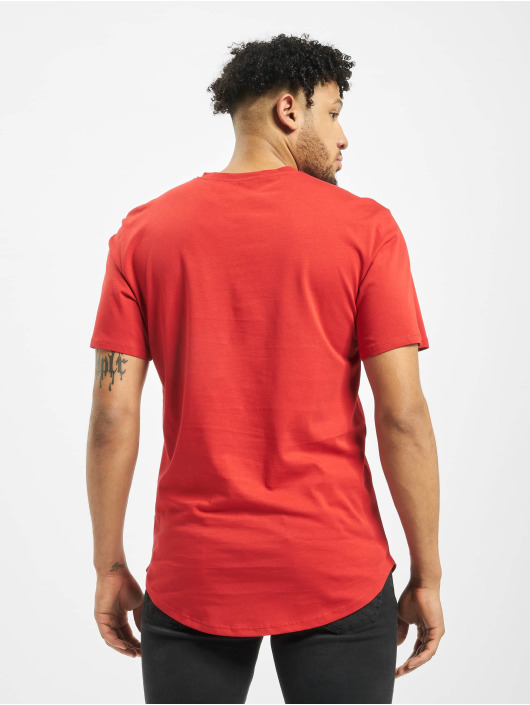 Only & Sons T-Shirt onsMatt Life Longy rouge
