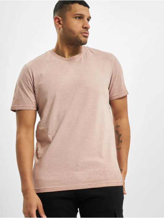 Only & Sons T-Shirt onsMillenium Life Reg Washed Noo rouge