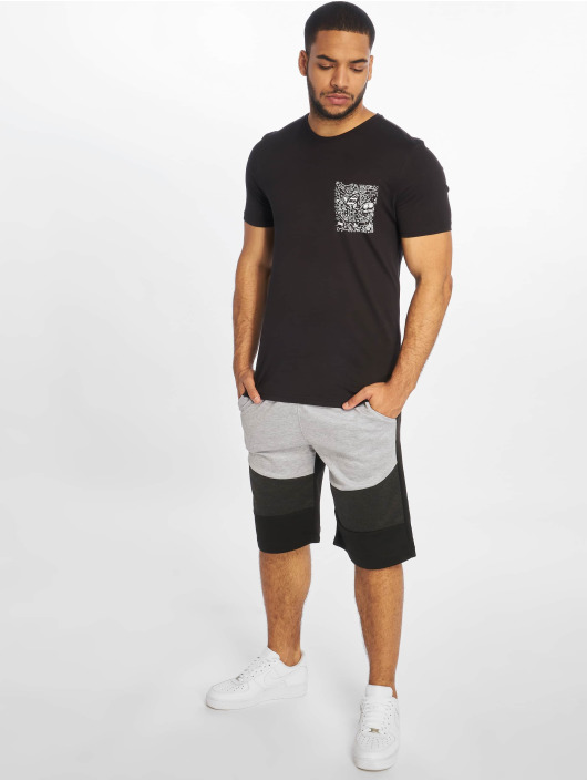 Only & Sons T-Shirt onsPetoskey Fitted Camp schwarz