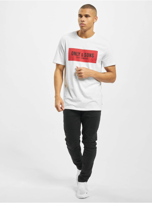 Only & Sons T-Shirt onsNormie weiß
