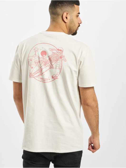 Only & Sons T-Shirt onsInk weiß