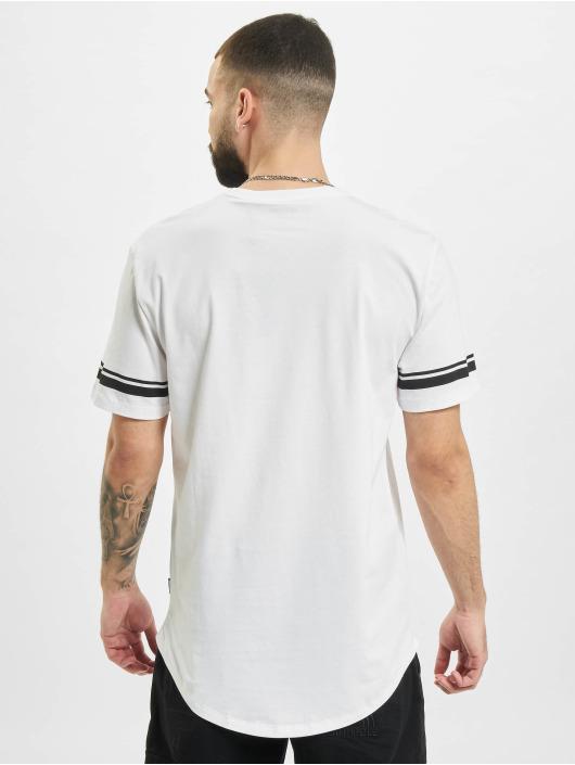 Only & Sons T-Shirt onsMatt Life Longy Slv Stripe weiß