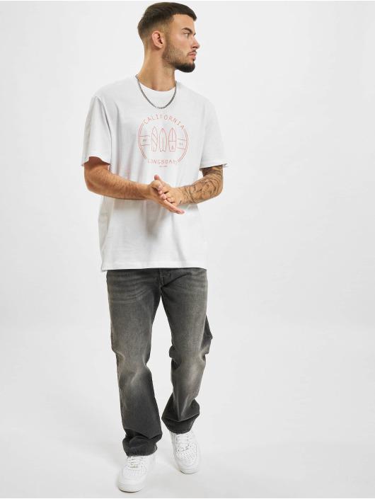 Only & Sons T-Shirt Ons Pine Life REG Mu Tee weiß