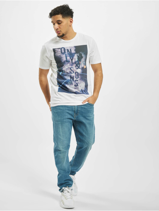 Only & Sons T-Shirt onsCalm white