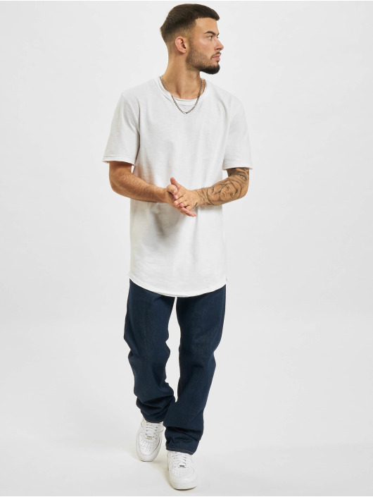 Only & Sons T-Shirt Ons Benne Life Longy NF 7822 white