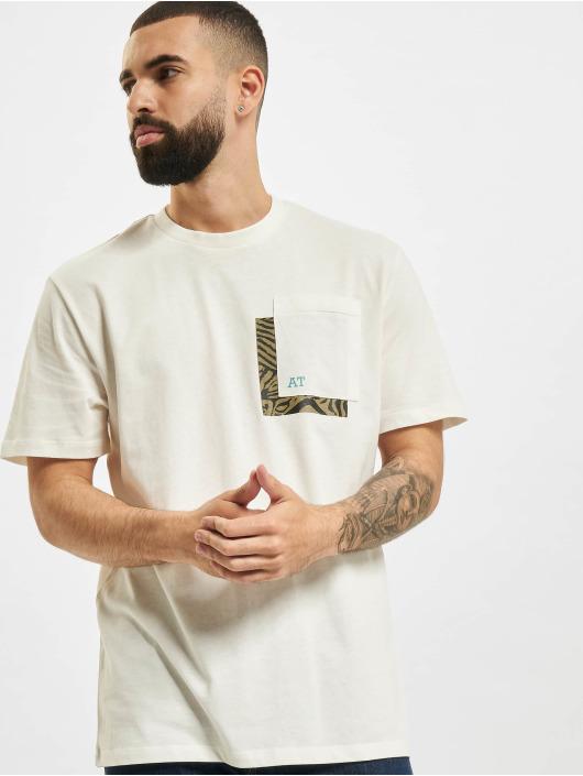 Only & Sons T-Shirt Onsasbjorn Life REG Pocket white