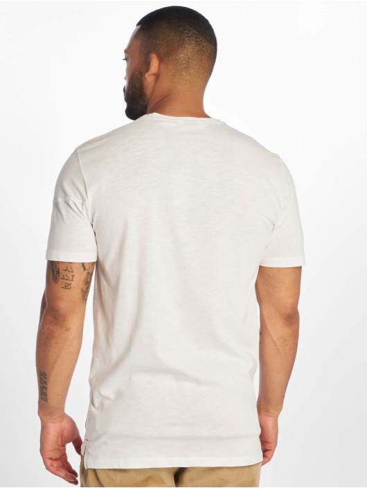 Only & Sons t-shirt onsLarson wit