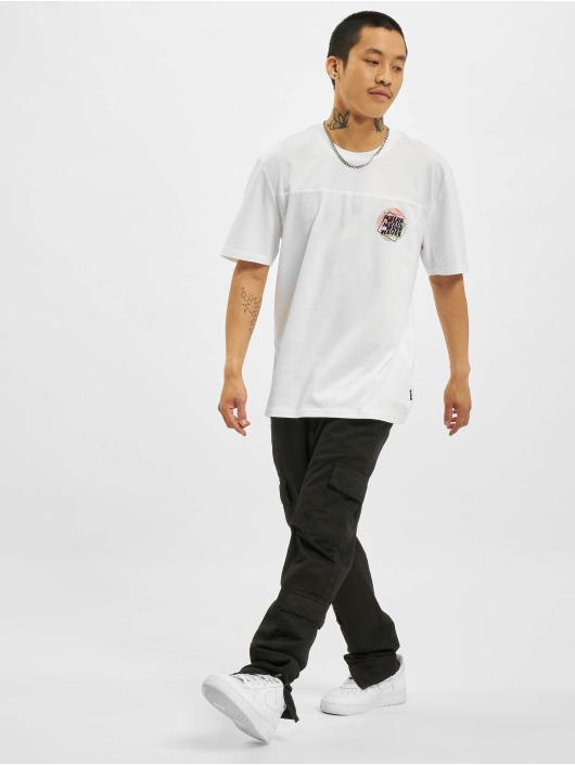 Only & Sons t-shirt Onsatik Life REG wit