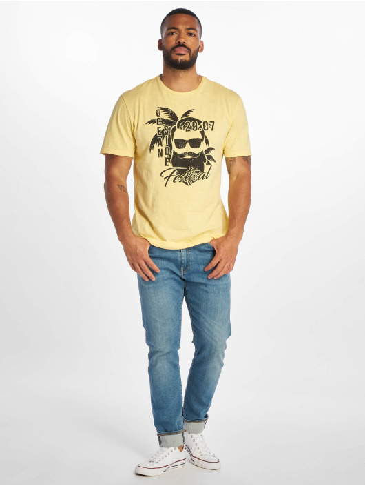 Only & Sons T-Shirt onsPromto Regular yellow
