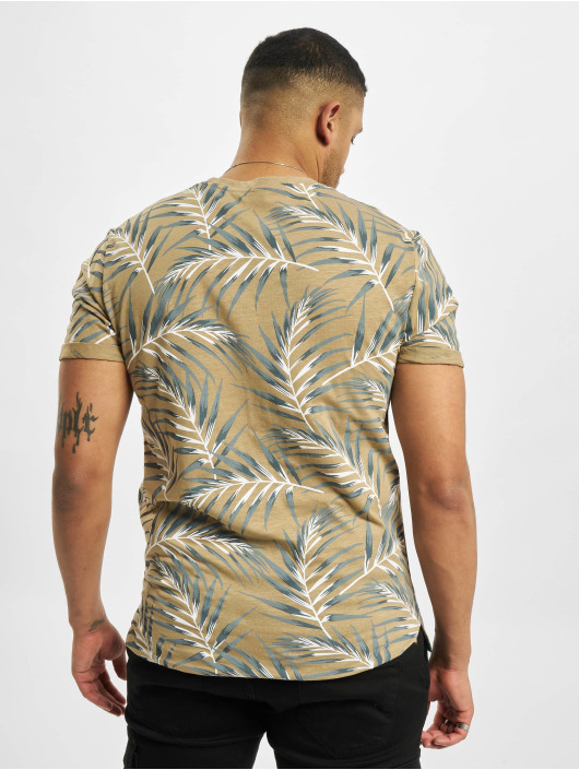 Only & Sons T-Shirty onsIason Slim Noos bezowy