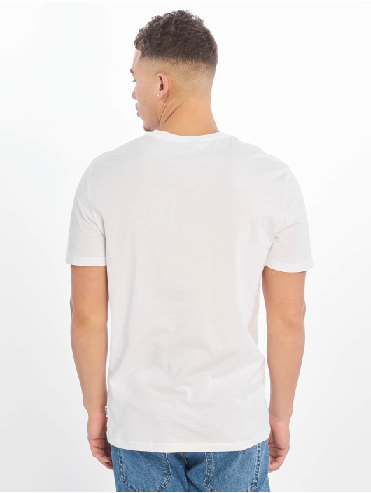 Only & Sons T-Shirty onsPacifica Fitte Camp bialy