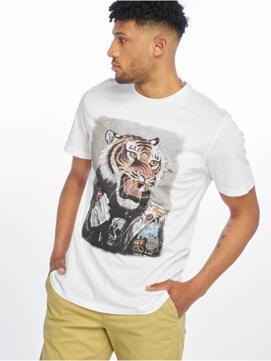 Only & Sons T-Shirty onsLoris Funny bialy