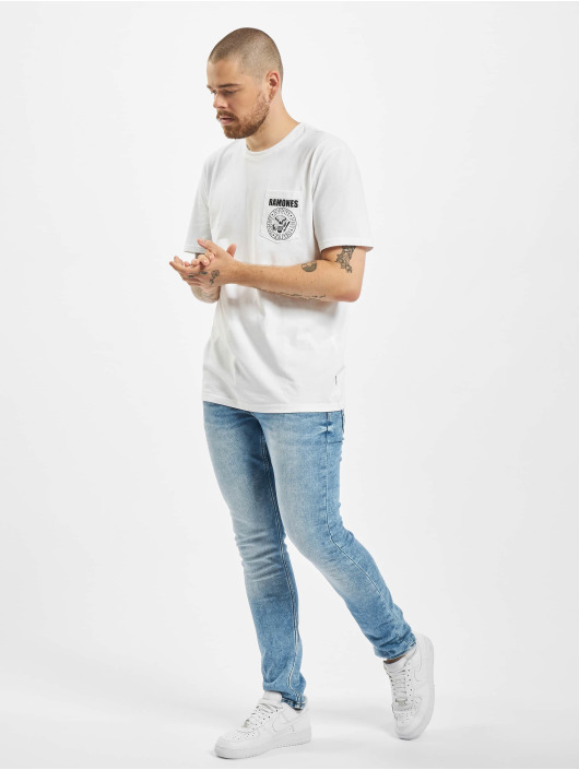 Only & Sons T-Shirty onsRamones bialy
