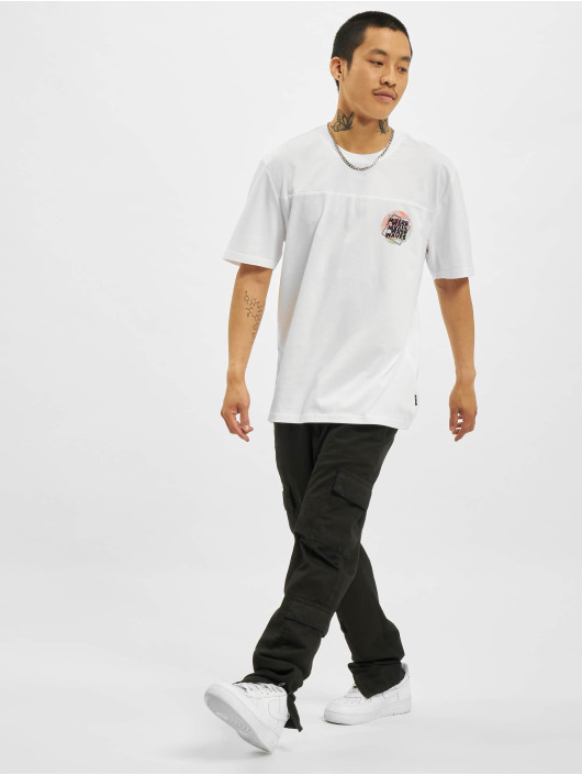 Only & Sons T-Shirty Onsatik Life REG bialy