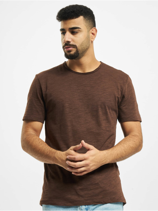 Only & Sons T-Shirty onsAlbert Life New Noos brazowy