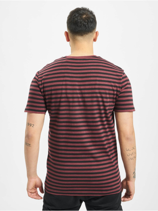 Only & Sons T-Shirty onsJamie Stripe Regular Noos czerwony