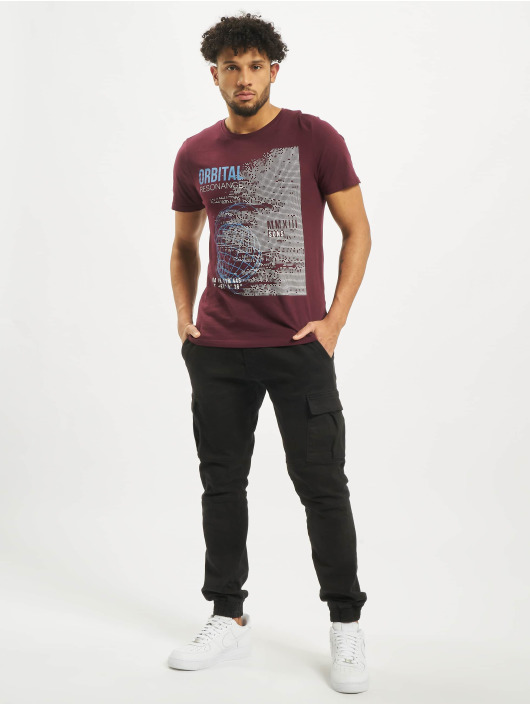 Only & Sons T-Shirty onsAlec Fitted czerwony