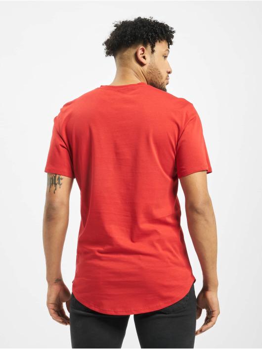 Only & Sons T-Shirty onsMatt Life Longy czerwony