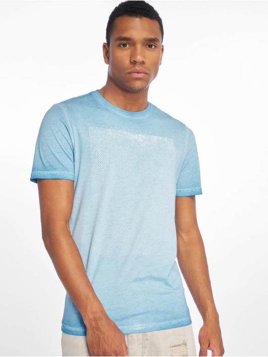 Only & Sons T-Shirty onsPatrik Oil Dye niebieski