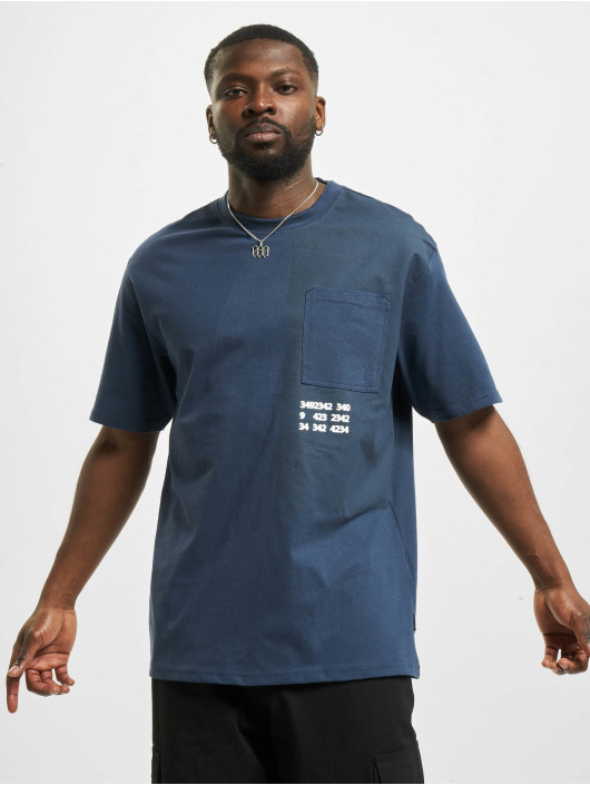 Only & Sons T-Shirty onsKingson Life Oversize niebieski