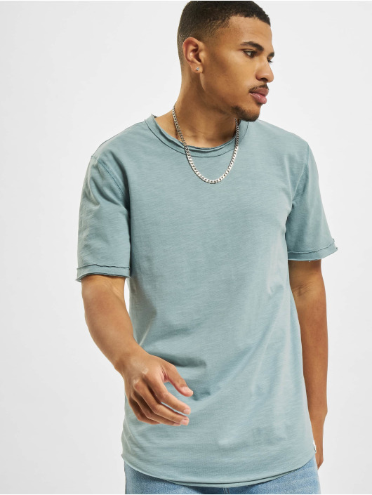 Only & Sons T-Shirty Ons Benne Life Longy NF 7822 niebieski
