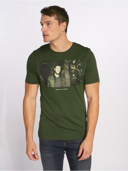 Only & Sons T-Shirty onsFalkne oliwkowy