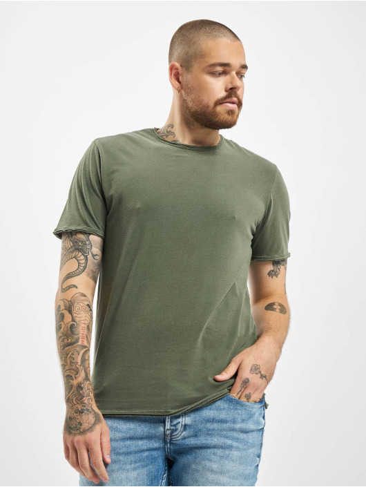 Only & Sons T-Shirty onsAlbert Washed Noos oliwkowy