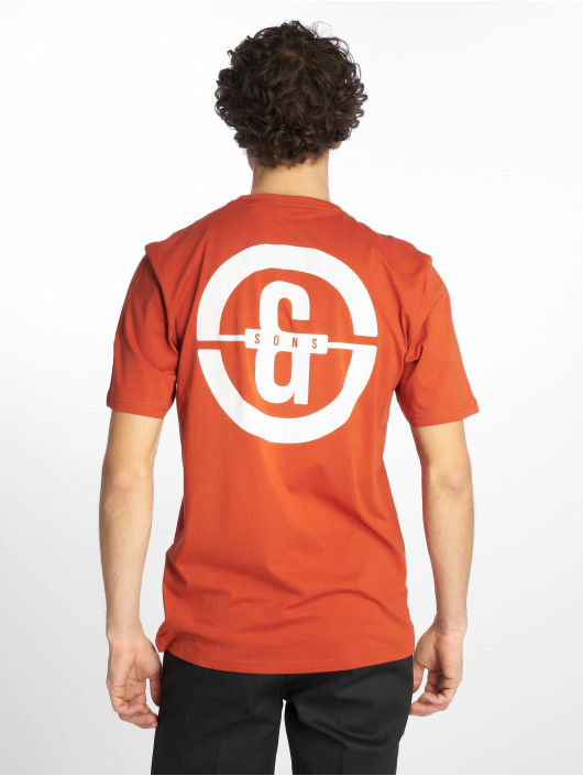 Only & Sons T-Shirty onsEdward Logo pomaranczowy