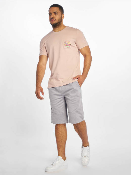 Only & Sons T-Shirty onsPetoskey Fitted Camp rózowy