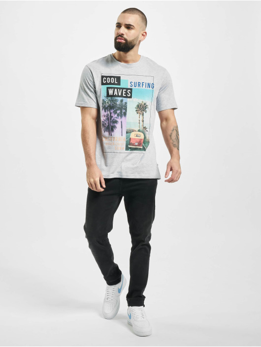 Only & Sons T-Shirty onsCam Slim szary