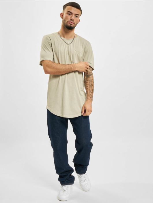 Only & Sons T-Shirty Ons Teo Life Longy  NF 9657 szary