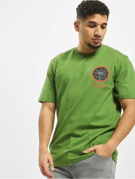 Only & Sons T-Shirty onsRover Regular zielony