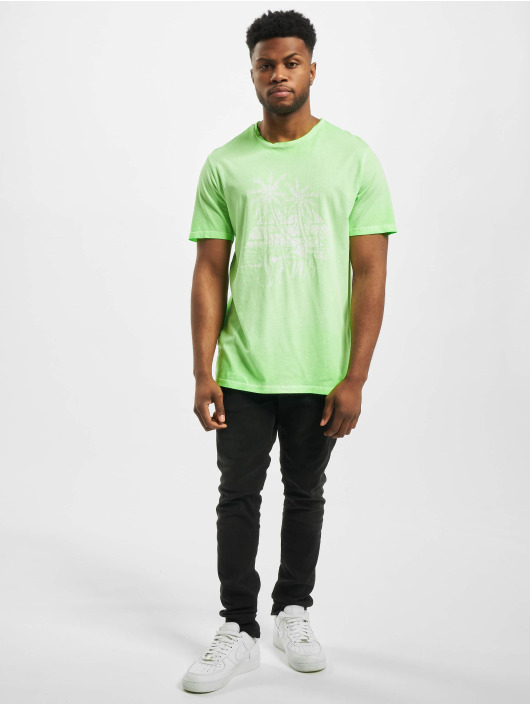 Only & Sons T-Shirty onsPimmit Neon zielony