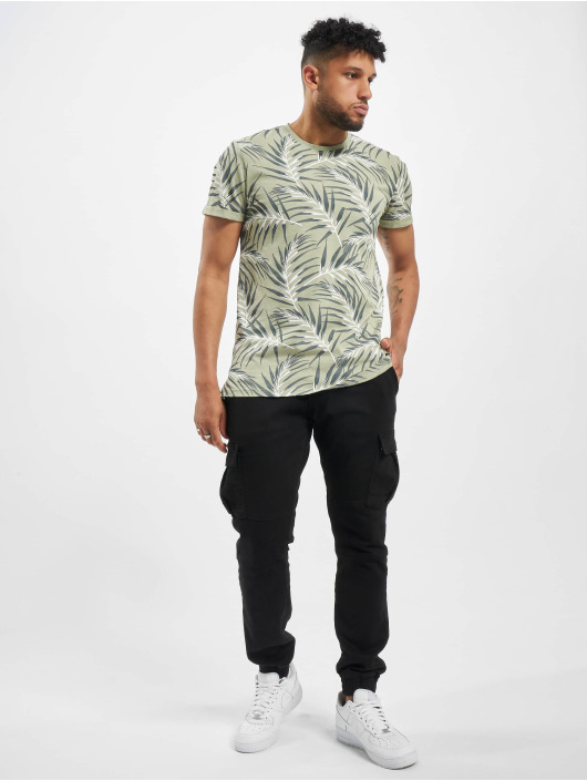 Only & Sons T-Shirty onsIason Slim Noos zielony