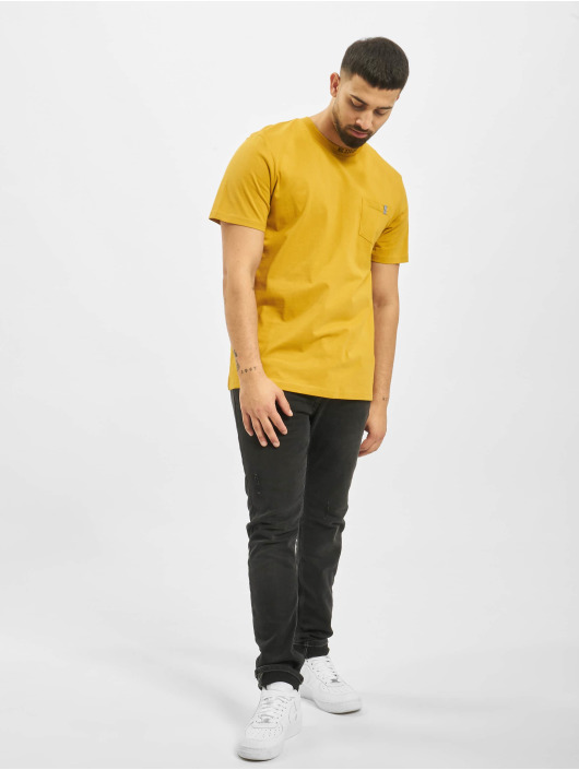 Only & Sons T-Shirty onsMogens Regular zólty