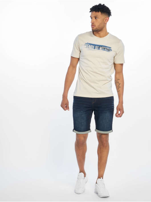Only & Sons T-skjorter onsAlbert Front Printed Fitted beige