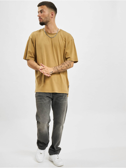 Only & Sons T-skjorter Ons Page Oversized beige