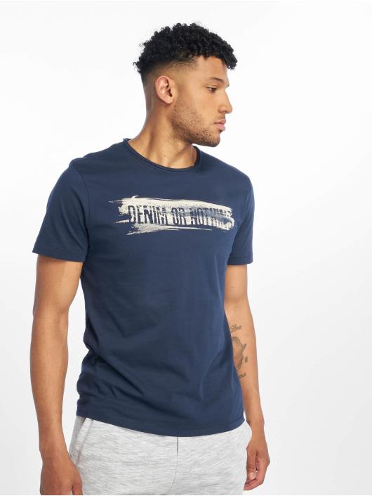 Only & Sons T-skjorter onsAlbert Front Printed Fitted blå