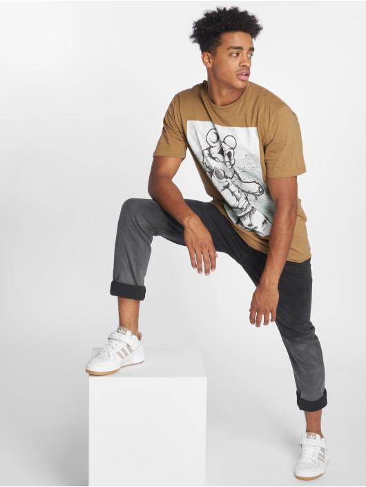 Only & Sons T-skjorter onsFloyd brun
