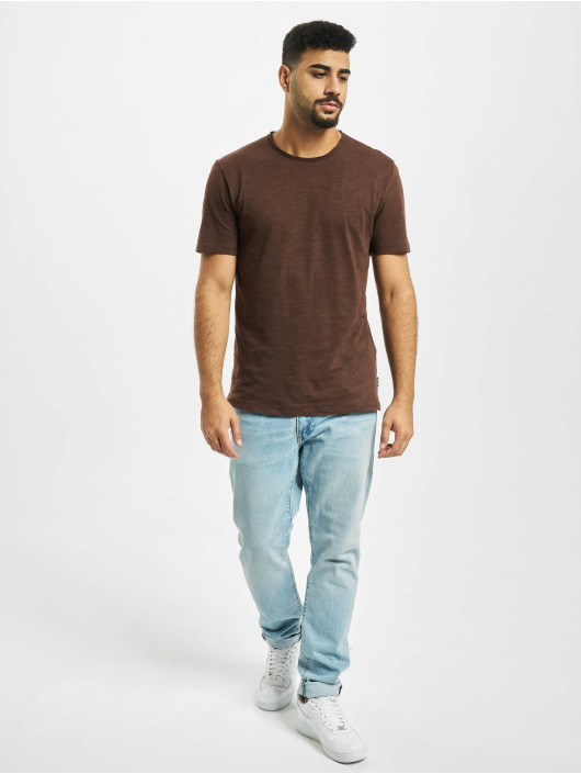 Only & Sons T-skjorter onsAlbert Life New Noos brun