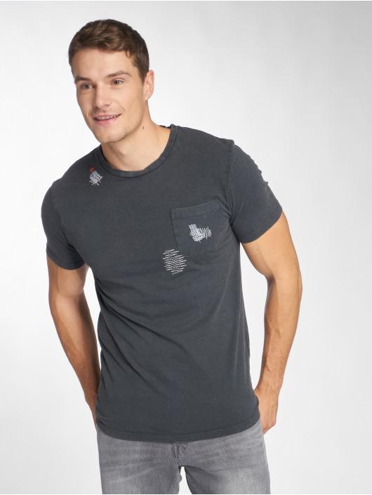 Only & Sons T-skjorter onsNew Finnley Destressed grå