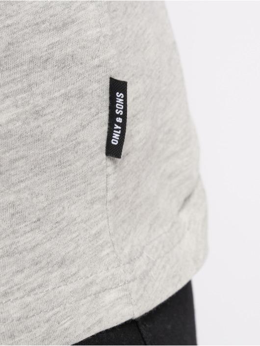 Only & Sons T-skjorter onsFabio grå