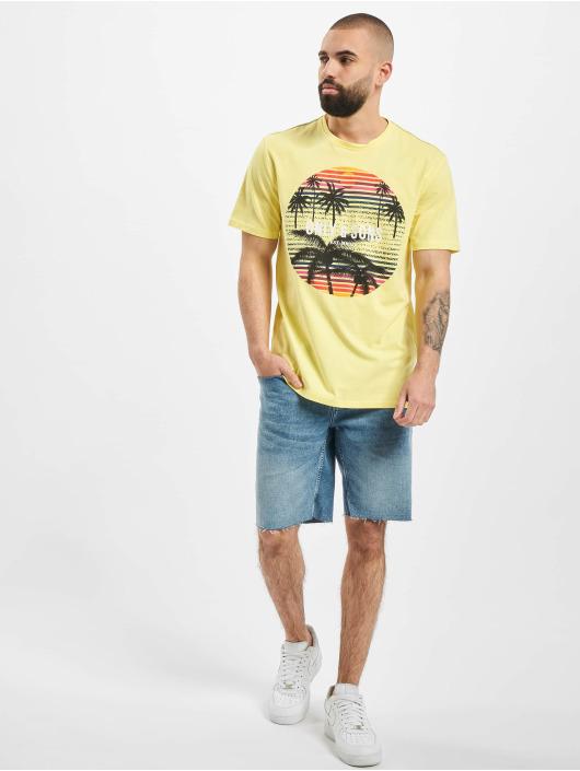 Only & Sons T-skjorter onsKuba gul