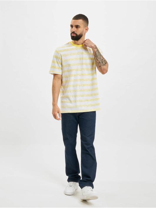 Only & Sons T-skjorter onsPivot Reg Summer Stripe gul