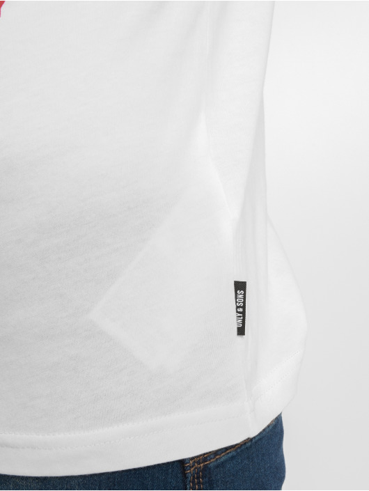 Only & Sons T-skjorter onsFinn hvit