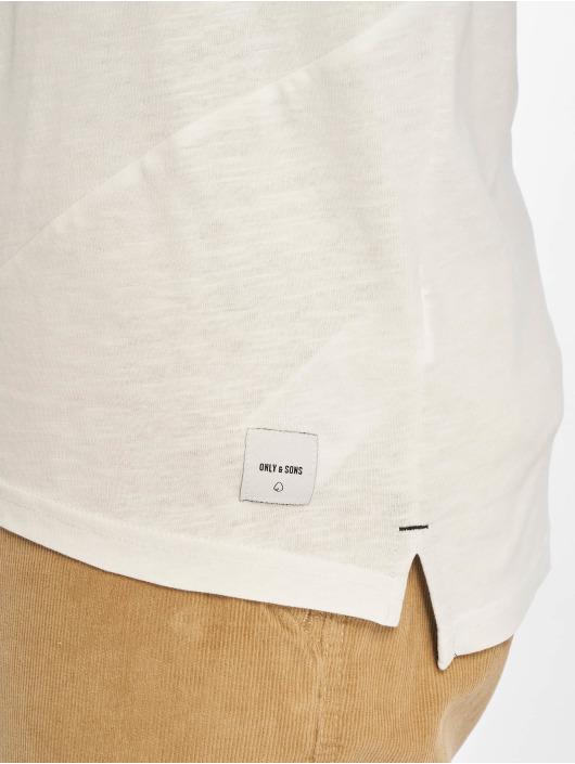 Only & Sons T-skjorter onsLarson hvit