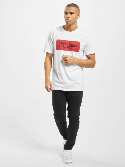 Only & Sons T-skjorter onsNormie hvit